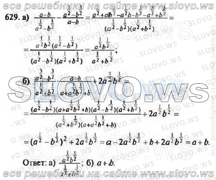 гдз по алгебре 1988