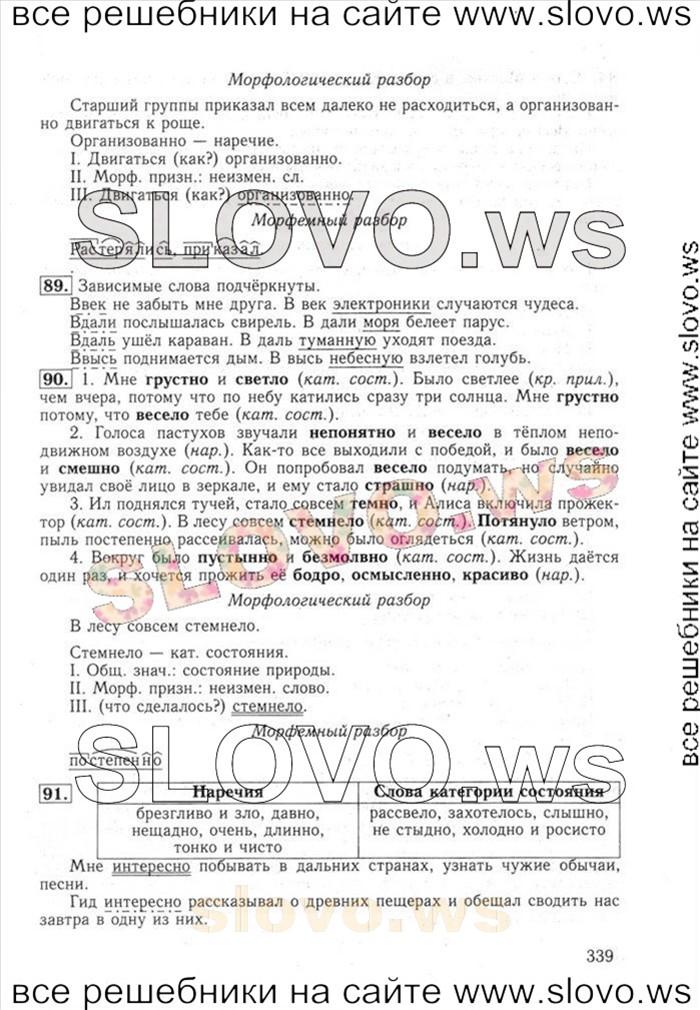 гдз по русскому 6 класс ладыженская баранов тростенцова: