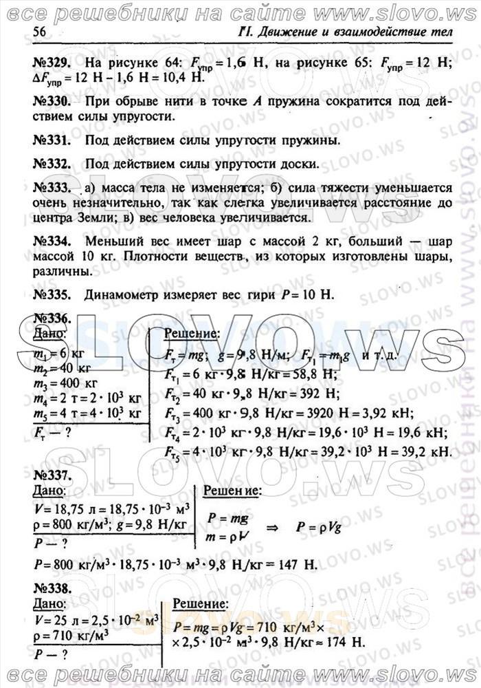 Физика Гдз 9 Класс Задачник Лукашик Иванова