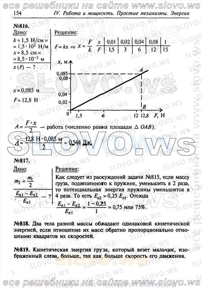 Скачать гдз по физике 7-9 класс лукашик сборник задач по физике