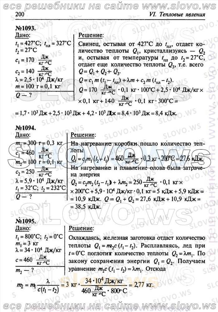 Гдз класс по задач скачать физике сборник 7-9 лукашик физике по