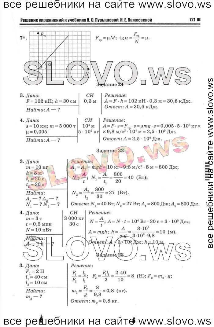 Решебник физика 7 класс важеевская 2019