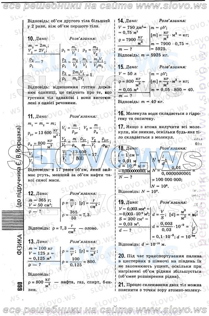 Гдз Фізика 10 Клас Коршак скачать
