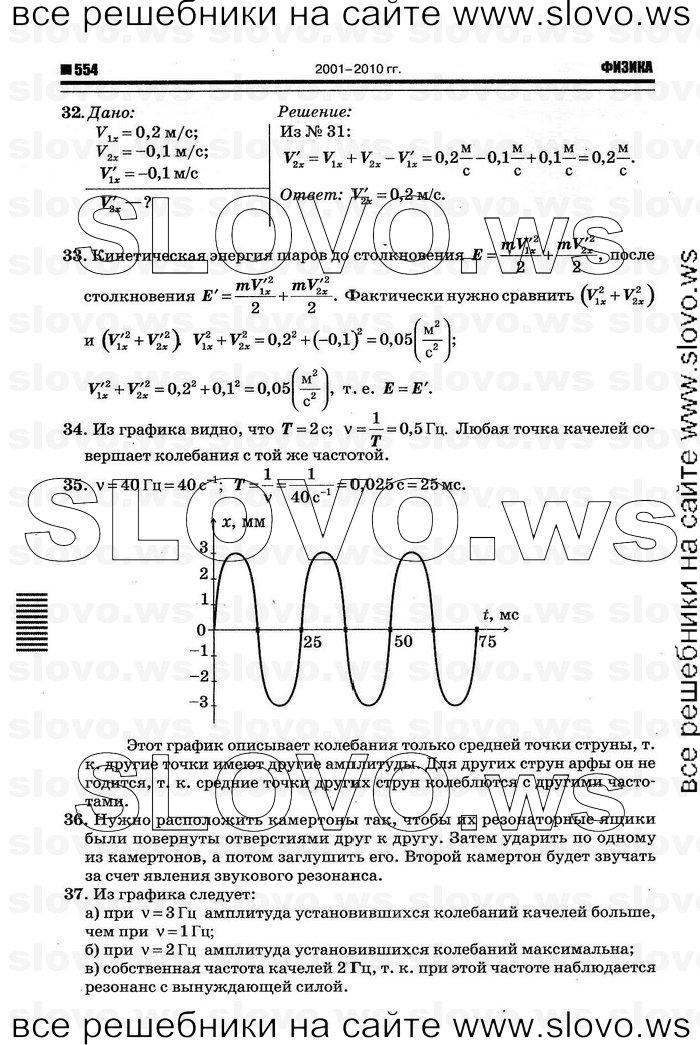 е.м.гутник по 9 а.в.перышкин решебник класса физике