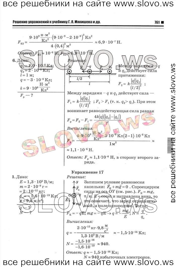 Гдз. физика. 10 класс (г.я.мякишев и др.)