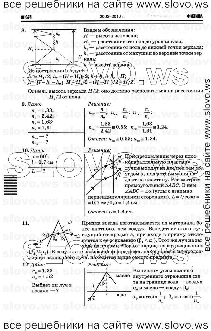 Гдз Физика 11 Класс Тихомирова Гдз Упражнение