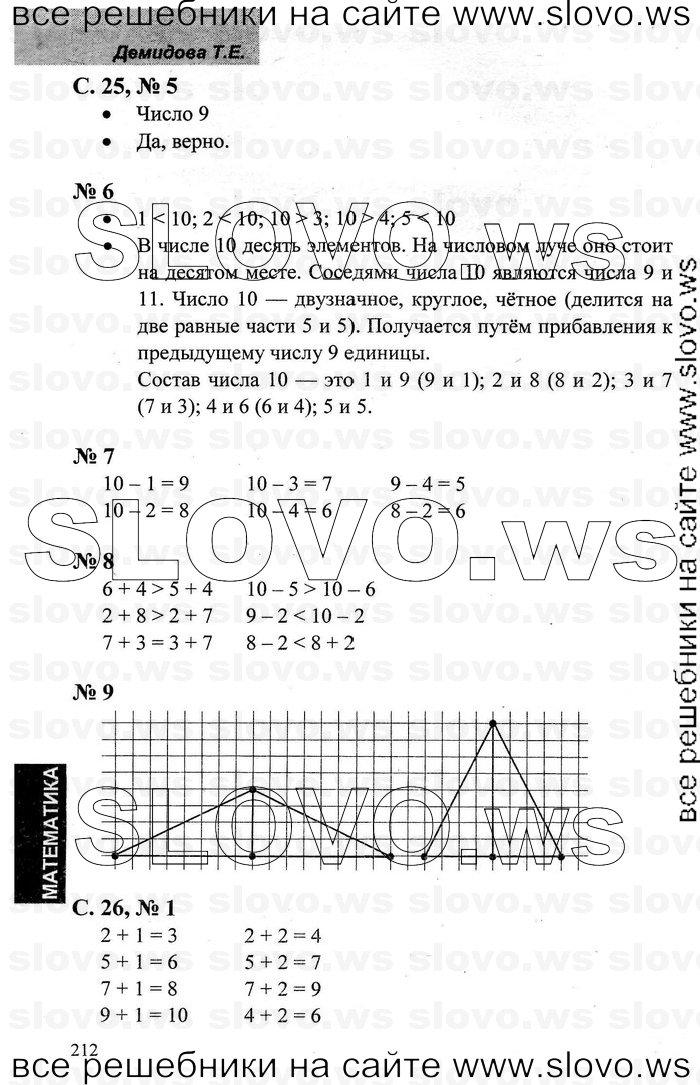 Математика 6 класс с а козлова 1 часть гдз