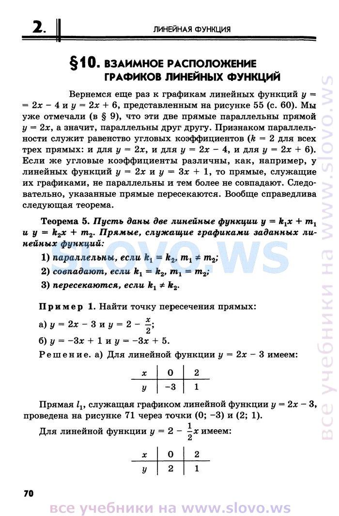 николаев ответы алгебра задачник мордкович