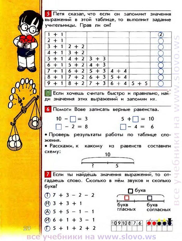 ответы по математике учебника и и аргинскаям е и ивановская с