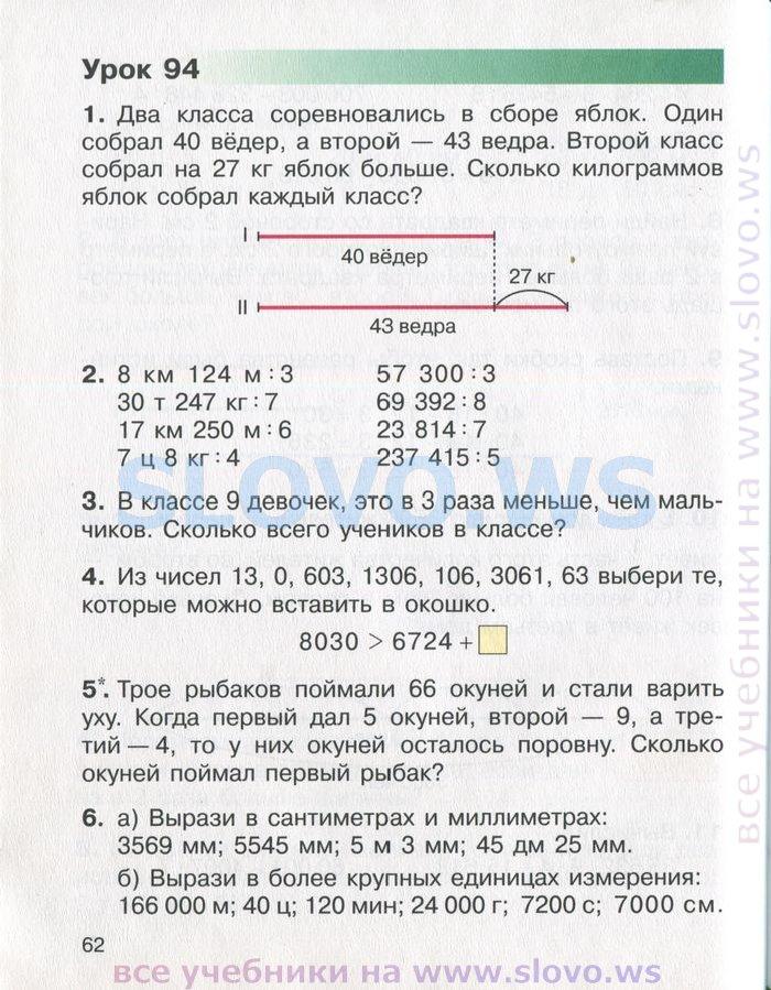 2018 решебник чеботаревская класс математику по 3 николаева