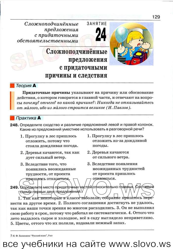 Книга русский язык 5 класс 2013 баландина
